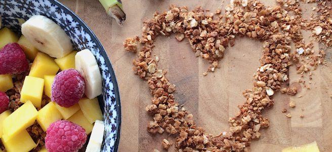 Granola Knuspermüsli Rezept glutenfrei