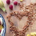 Knuspermüsli Granola Rezept glutenfrei