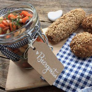 Kichererbsen Biergarten glutenfrei Salat Rezeptwettbewerb
