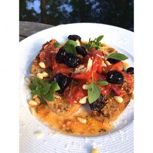 Tomaten-Brotsalat Sommersalat glutenfrei
