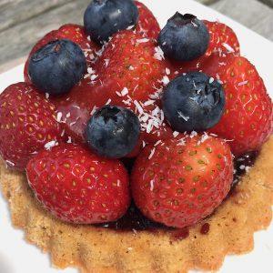 Obst Törtchen Erdbeeren glutenfrei
