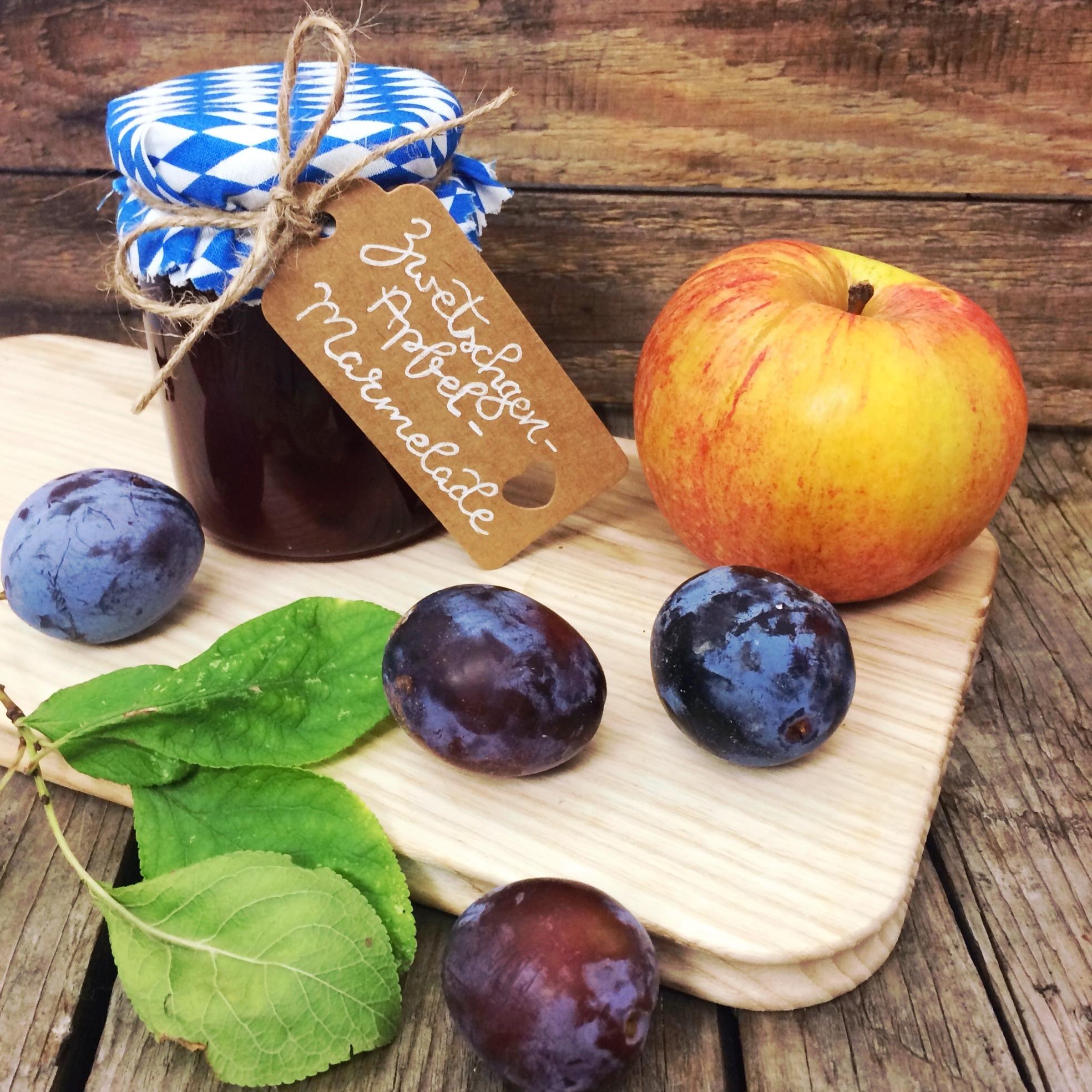 Zwetschgen-Apfel-Marmelade Rezept