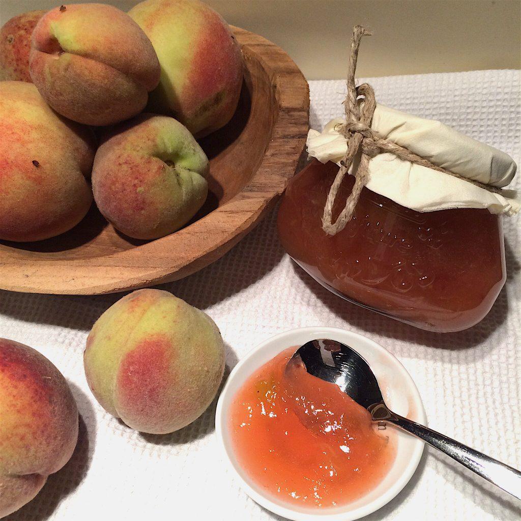Pfirsich Marmelade Rezept eigene Ernte