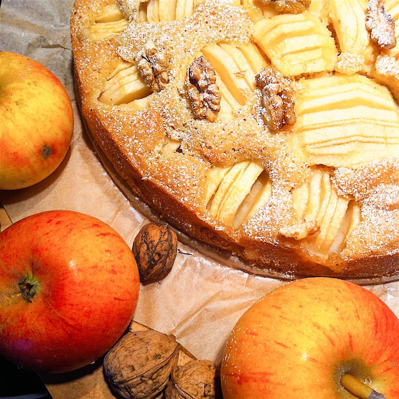 Apfel Nuss Kuchen Glutenfrei Schnell Gemacht Glutenfreie