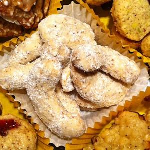 Vanillekipferl glutenfrei ohne Mehl Rezept Weihnachtsplätzchen
