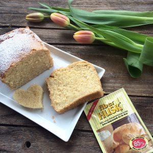 Eierlikör-Kuchen glutenfrei FiberHUSK Flohsamenschalenpulver