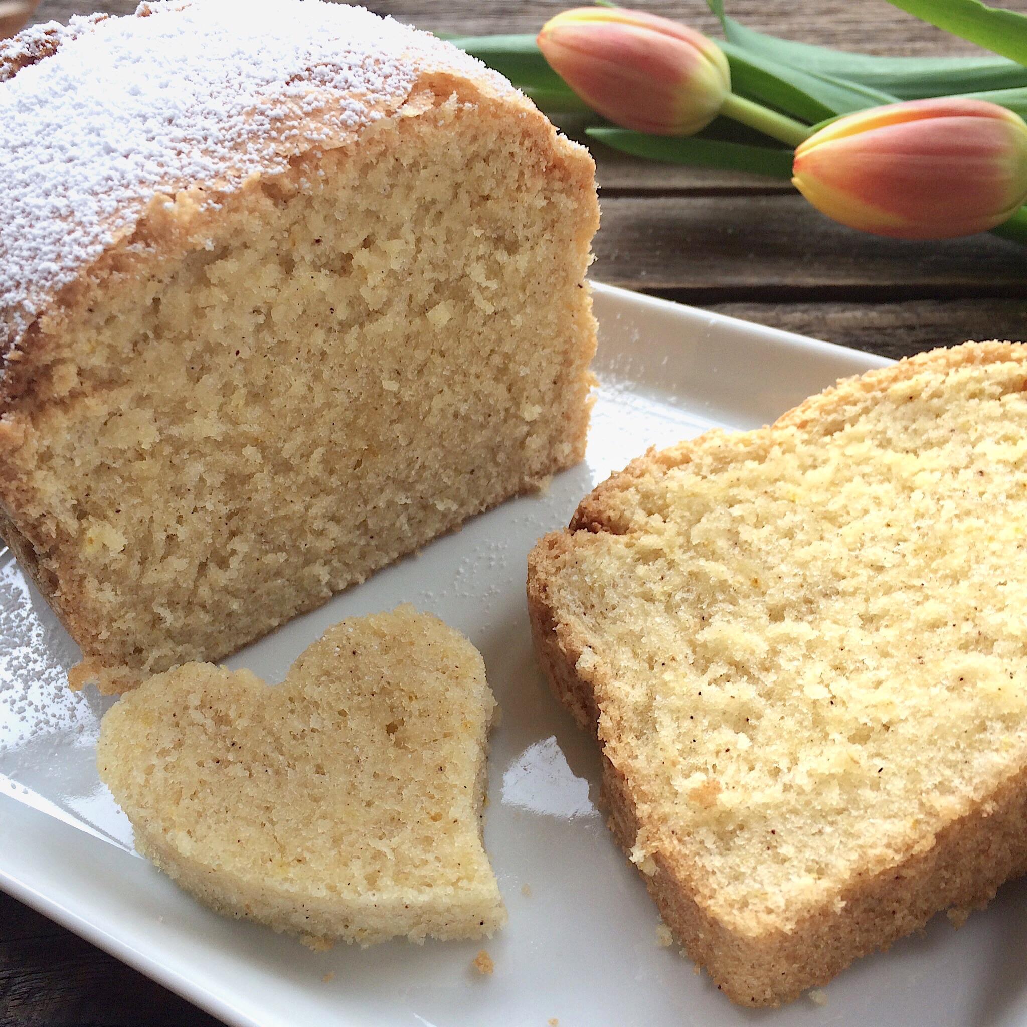 Eierlikor Kuchen Glutenfrei Und Saftig Mit Flohsamenschalenpulver