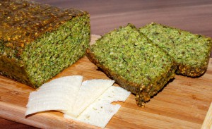 Bärlauch-Parmesan-Brot - glutenfrei & lowcarb von 'Lowcarbgoodies'