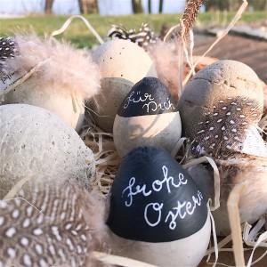 Beton Eier Ostern