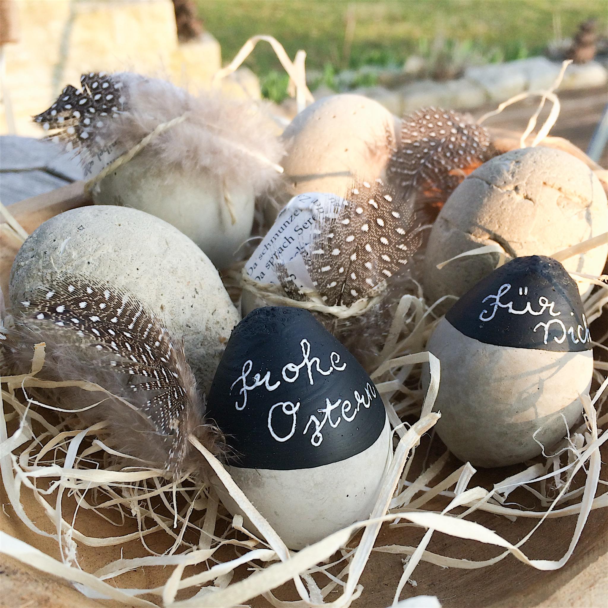 beton-eier für ostern selber machen! - glutenfreie rezepte