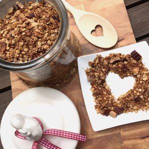 Knuspermüsli Granola glutenfrei selber machen