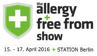 Allergie free from Show Berlin glutenfrei