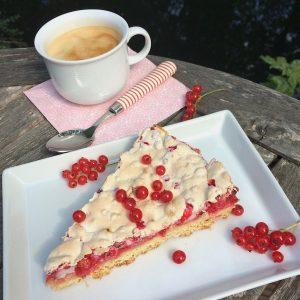 Johannisbeeren Baiser Kuchen glutenfrei