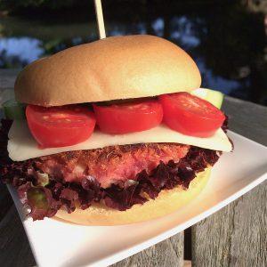 Rote Bete Quinoa Burger glutenfrei