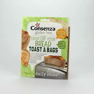 Toast Bags glutenfrei unterwegs Consenza