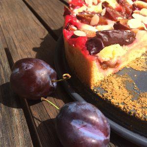 Zwetschgenkuchen glutenfrei