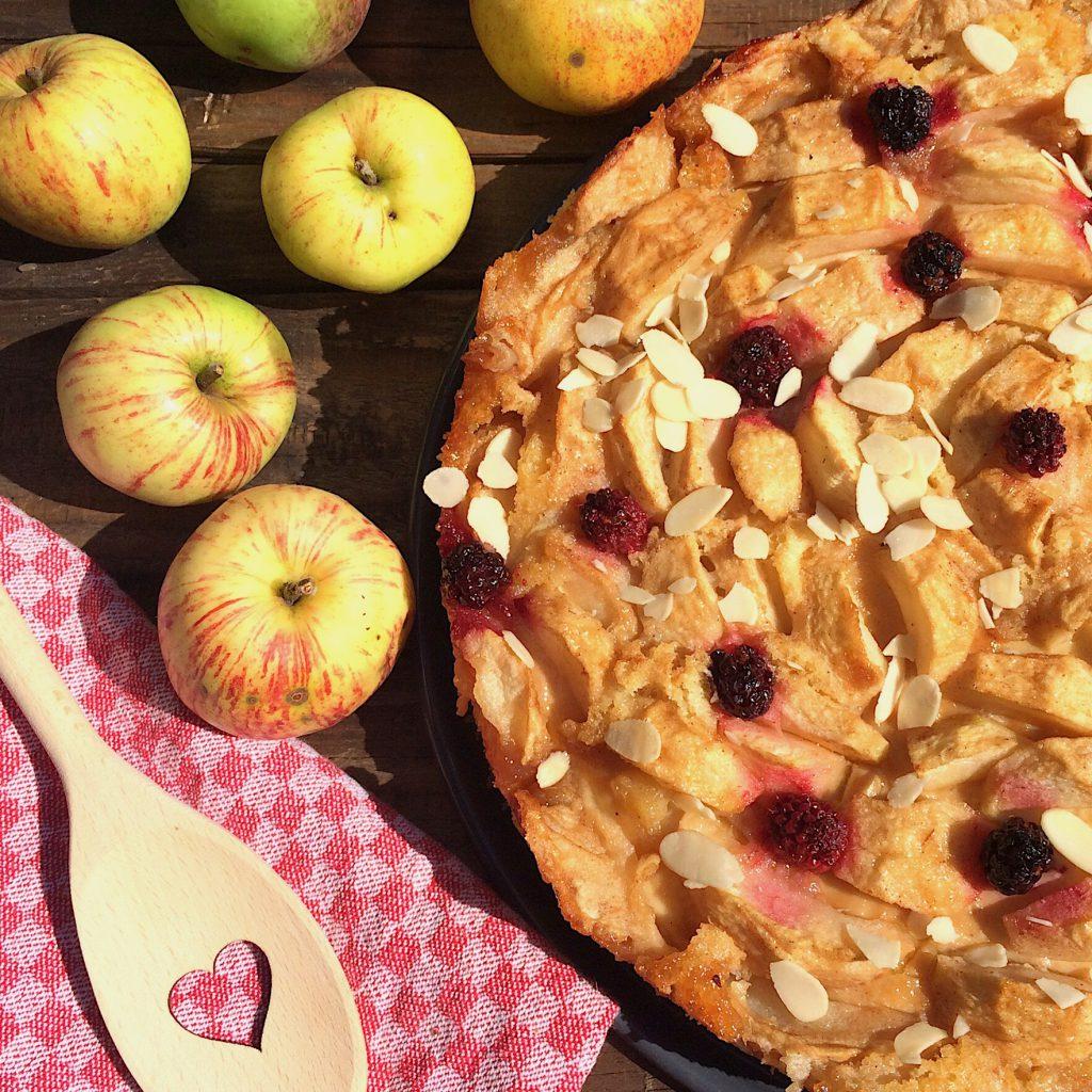 Apfelkuchen kandiert glutenfrei Rezept