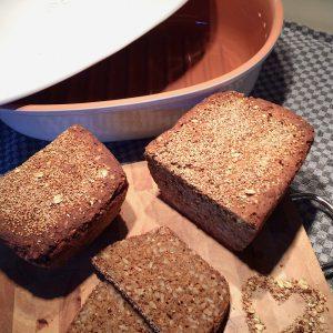 Brottopf Römertopf glutenfrei Brot backen