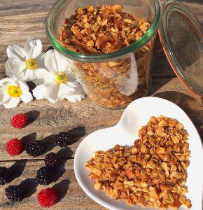 Knuspermüsli Rezept glutenfrei