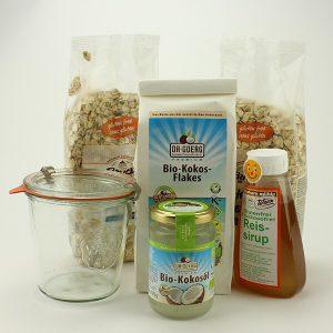 Knuspermüsli Rezept glutenfrei selber machen
