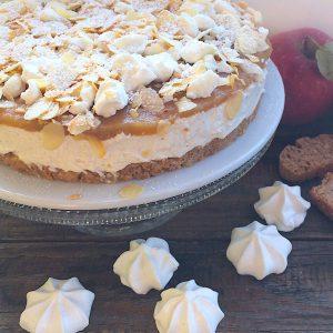 Mascarpone Apfelkuchen Torte glutenfrei Cantuccini