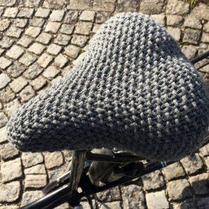 Fahrradsattelüberzug Anleitung stricken