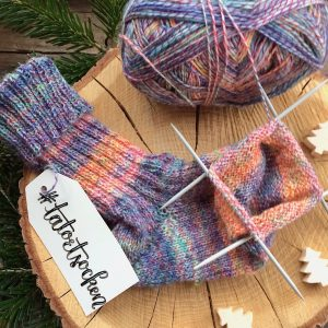 Tatort Socken stricken
