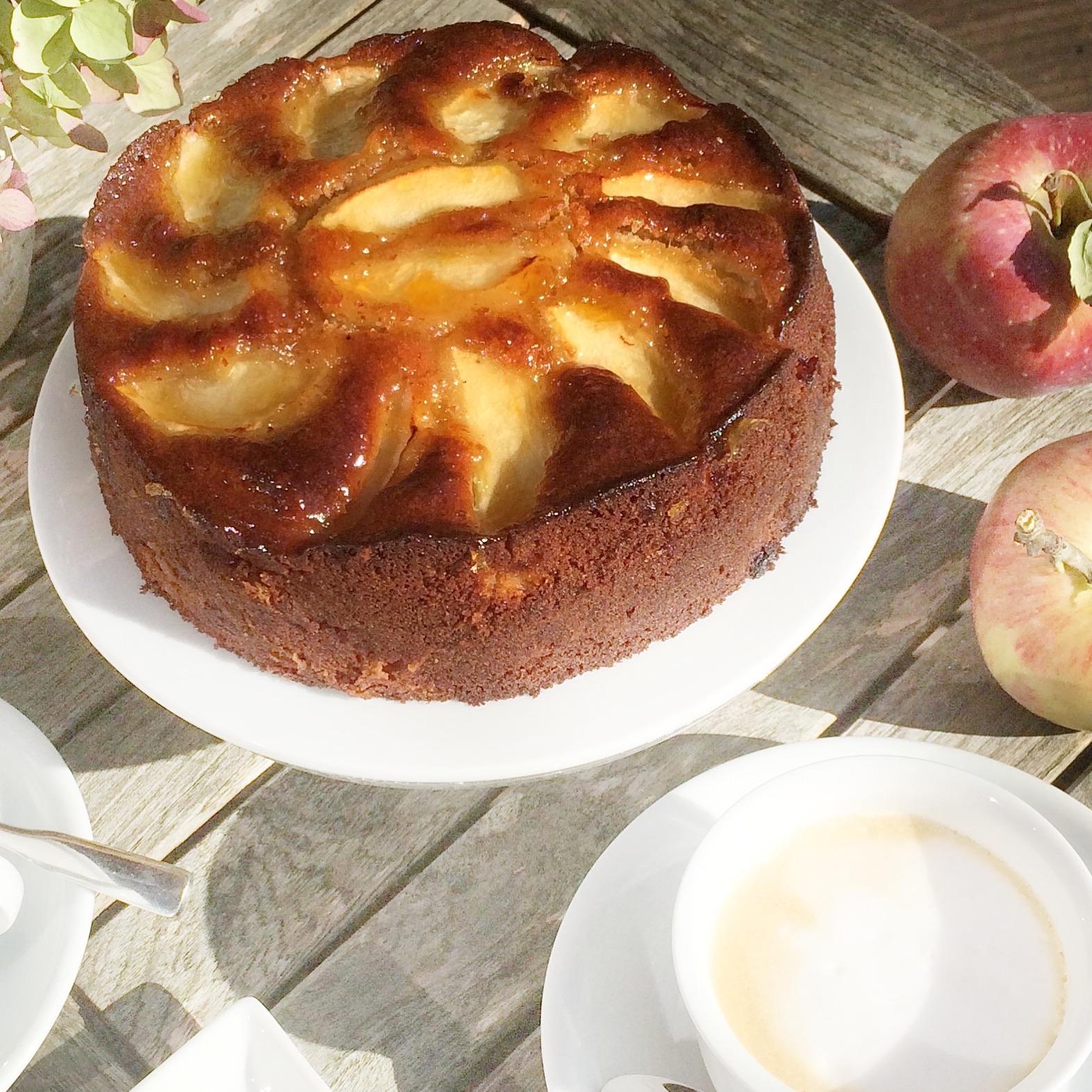 Apfelkuchen Mit Marzipan Glutenfrei Saftig Glutenfreie Rezepte