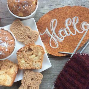 Spekulatius Apfel Muffins Rezept glutenfrei