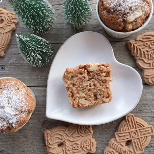 Apfel Spekulatius Muffins glutenfrei