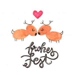 FROHES FEST Handlettering