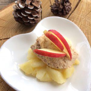 Lebkuchen-Mandel-Mousse glutenfrei