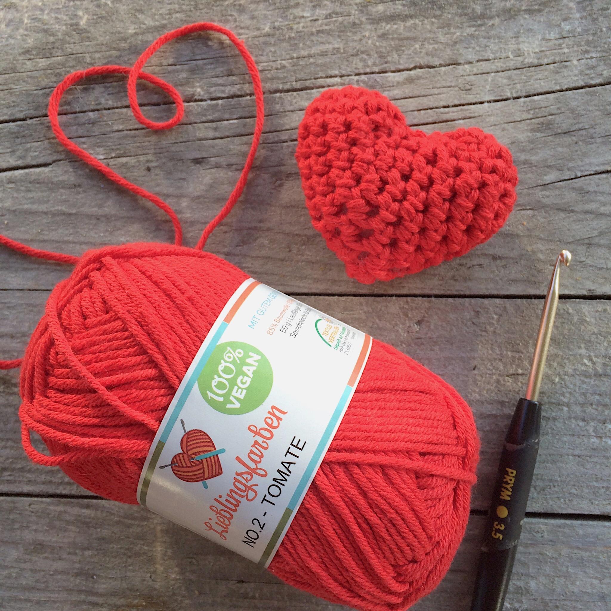 Valentinstag Häkelherz Anleitung Glutenfreie Rezepte Kreative