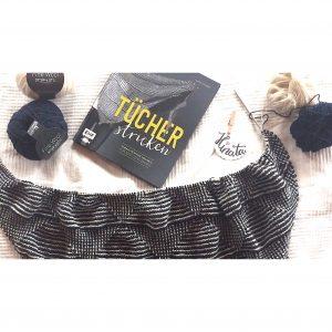 Hinata Hebemaschen Tuch Tpcher stricken Maschenfein