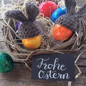 Eierwörmer häkeln Ostern