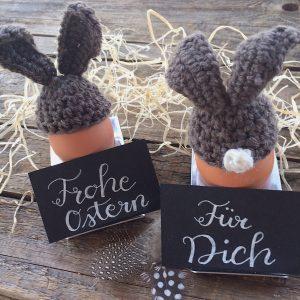 Eierwörmer Ostern häkeln Anleitung