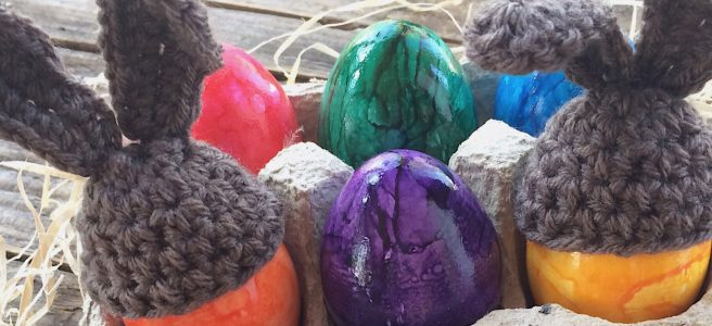 Eierwärmer häkeln Ostern