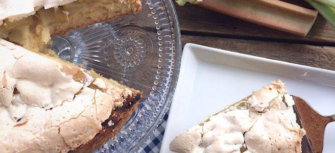 Rhabarber Kuchen glutenfrei