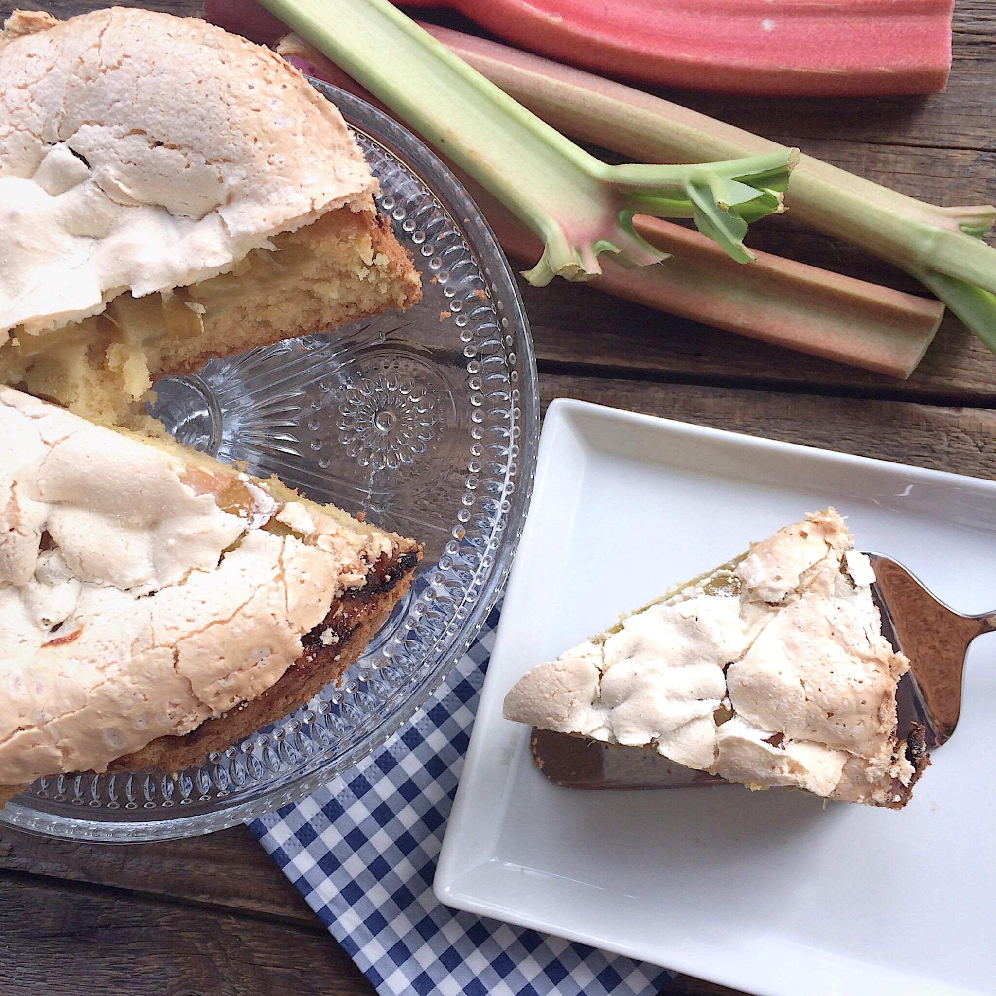 Rhabarber Baiser Kuchen Glutenfrei Glutenfreie Rezepte