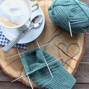 Yoga-Socke stricken