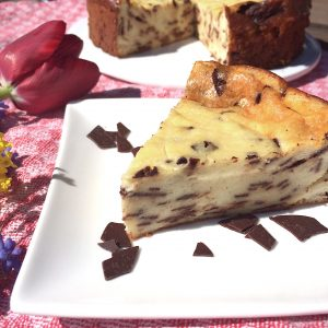 Stracciatella-Kuchen glutenfrei