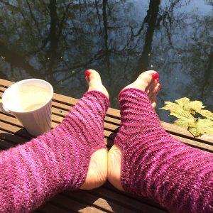 Yoga Socken stricken