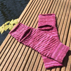 Yoga Socken stricken