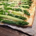 grüner Spargel glutenfrei Blätterteig