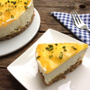 Mango Cheesecake glutenfrei