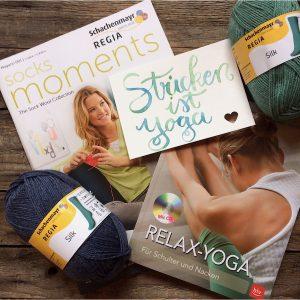 Gewinnspiel Yoga Strick Paket