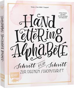 Handlettering Alphabete Frau Hölle Tanja Cappell