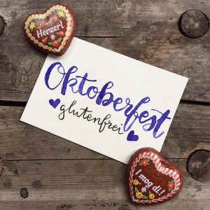 Oktoberfest Wiesn glutenfrei
