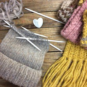 Schal fürs Leben und Mütze Strickanleitung