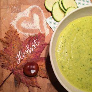 Rezept für Zucchini-Kokos-Suppe glutenfrei